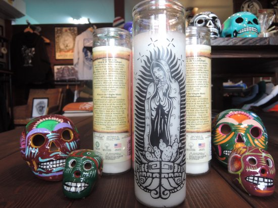 SHOP MI VIDA ミヴィダ Original オリジナル Virgen Protection Candle キャンドル