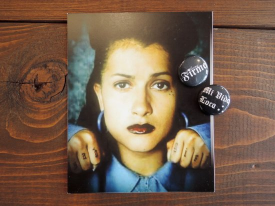 MI VIDA LOCA Sad Girl Poster & Badge SET