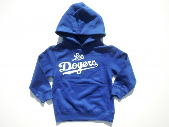 Los Doyers KIDS キッズ HOODIE  SWEAT スウェット ROYAL BLUE 4T