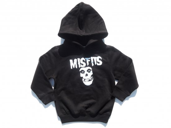 MISFITS   KIDS キッズ HOODIE  SWEAT スウェット BLACK 4T