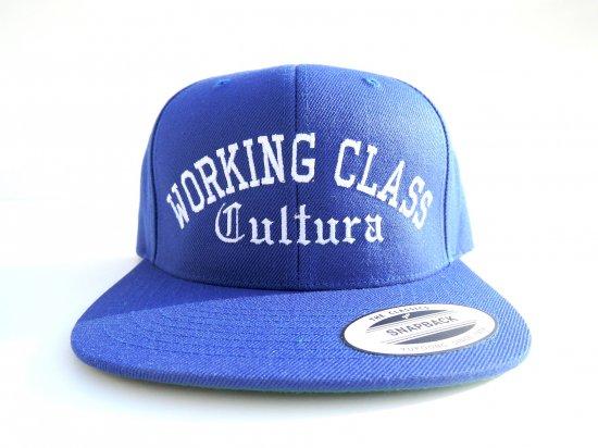 Working Class Cultura ワーキングクラスカルチュラ SNAPBACK スナップバック ROYAL BLUE