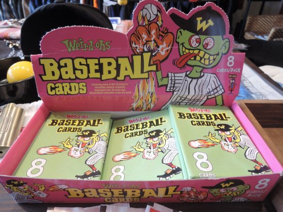 Weird-ohs BASEBALL CARDS  8CARDS  PACK