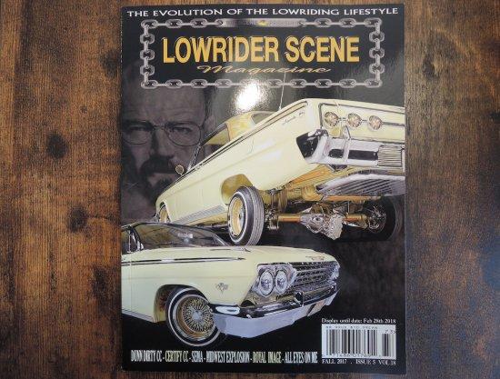 LOWRIDER SCENE MAGAZINE ローライダーシーン Vol.18  FALL 2017