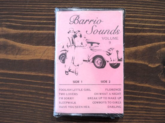 BARRIO SOUNDS VOLUME9 TAPE