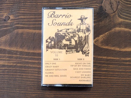 BARRIO SOUNDS VOLUME10 TAPE