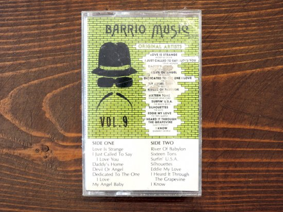 BARRIO MUSIC VOL.9  TAPE CASSETTE STEREO