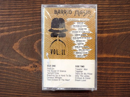 BARRIO MUSIC VOL.11  TAPE CASSETTE STEREO