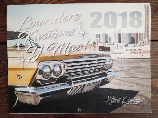 Street Coverage Photography 2018 Calendar