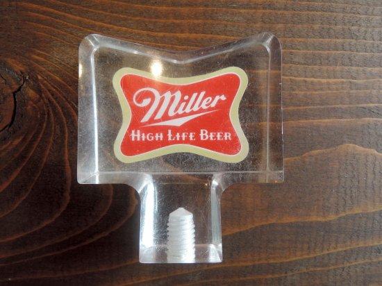 BEER SERVER KNOB ビアサーバーノブ  MILLER VINTAGE ビンテージ