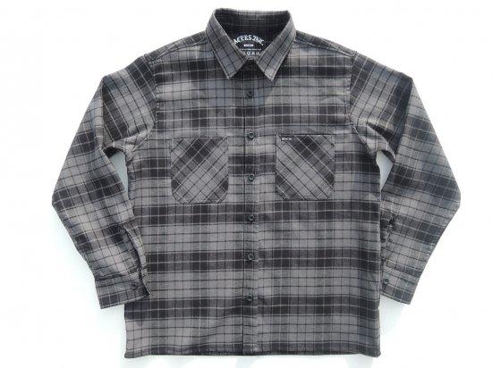 ACERS INC. エーサーズ   OG  Flannel Shirts フランネルシャツ CHARCOAL チャコール