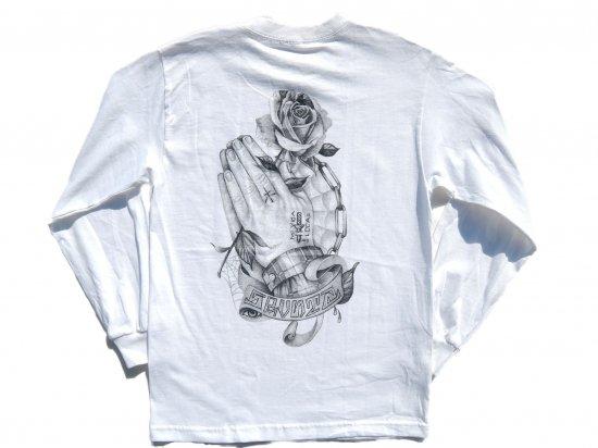 SRVNTZ サーヴァンツ  Mi Vida Loca  L/S Tシャツ WHITE