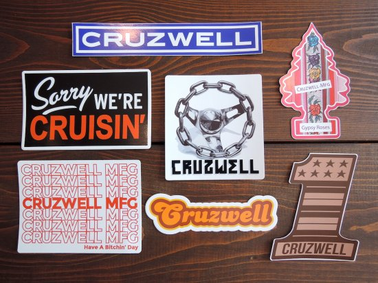 CRUZWELL MFG Sticker Pack ステッカーパック C