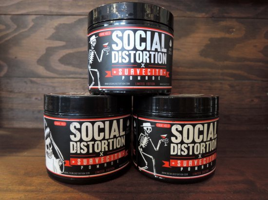 SUAVECITO POMADE スアベシートポマード  SUAVECITO X SOCIAL DISTORTION  FIRME(STRONG) HOLD POMADE オリジナルホールド