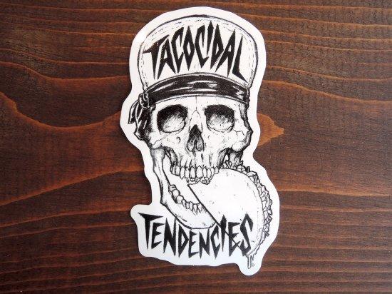 TACOCIDAL TENDENCIES  VINYL STICKER
