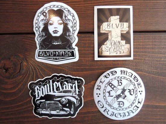 BLVD MADE ブールバードメイド Original Sticker   A