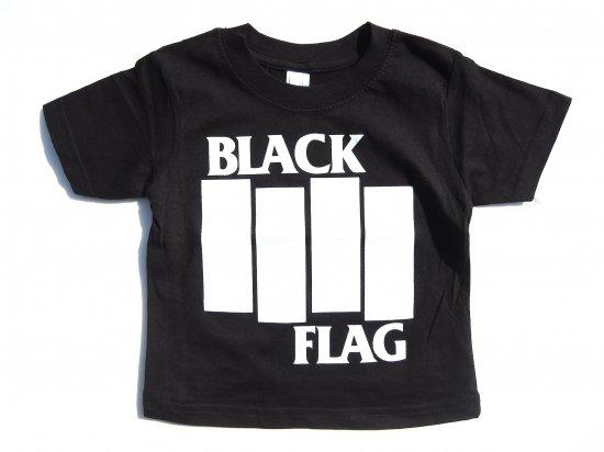 BLACK FLAG  KIDS キッズ S/S Tシャツ BLACK ブラック