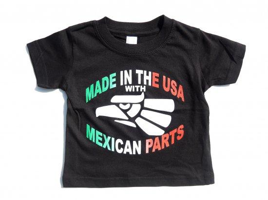 HECHO en  KIDS キッズ S/S Tシャツ BLACK ブラック
