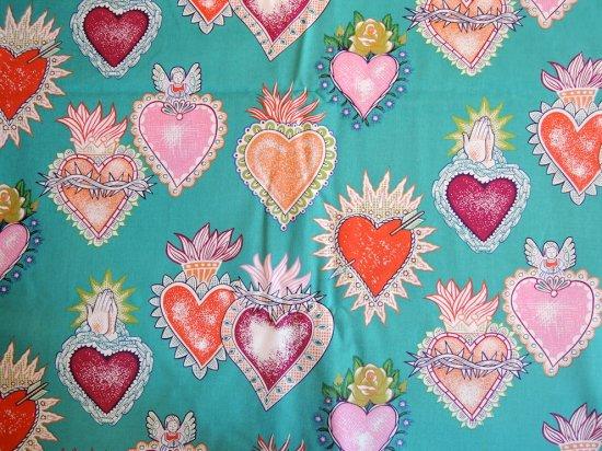 Corazon/ Sacred Heart   メキシコ コラソン 生地