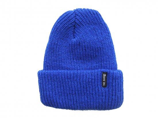 ACERS INC. エーサーズ   KNIT CAP  ニットキャップ ROYAL BLUE  ロイヤルブルー