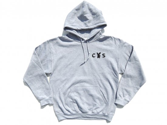<img class='new_mark_img1' src='//img.shop-pro.jp/img/new/icons15.gif' style='border:none;display:inline;margin:0px;padding:0px;width:auto;' />SUPPORT GOOD TIMES x CALIFORNIA SOCIAL CLUB  Collaboration  HOODIE  GREY