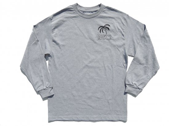 JESSE BARBA x CALIFORNIA SOCIAL CLUB  Collaboration  L/S T-SHIRT  GREY