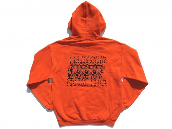 <img class='new_mark_img1' src='//img.shop-pro.jp/img/new/icons15.gif' style='border:none;display:inline;margin:0px;padding:0px;width:auto;' />JESSE BARBA x CALIFORNIA SOCIAL CLUB  Collaboration  HOODIE  ORANGE
