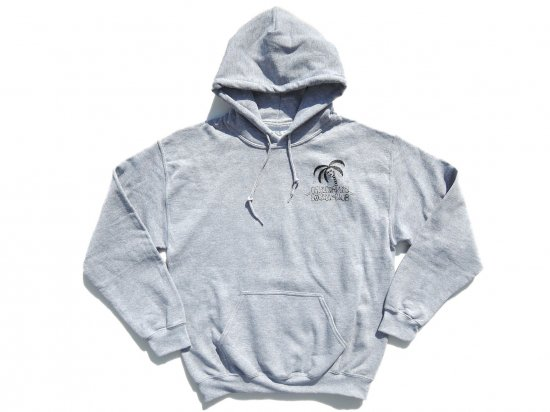 JESSE BARBA x CALIFORNIA SOCIAL CLUB  Collaboration  HOODIE  GREY