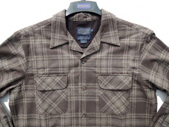 PENDLETON ペンドルトン Board Shirts  BROWN/TAUPE   MIX PLAID