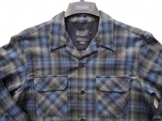<img class='new_mark_img1' src='//img.shop-pro.jp/img/new/icons15.gif' style='border:none;display:inline;margin:0px;padding:0px;width:auto;' />PENDLETON ペンドルトン Board Shirts  BLUE/GREY OMBRE