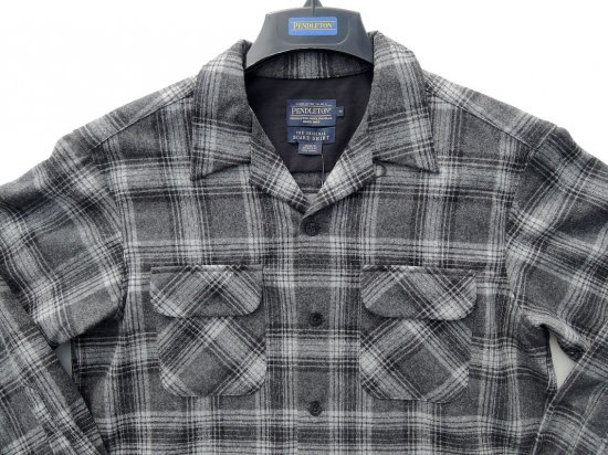 <img class='new_mark_img1' src='//img.shop-pro.jp/img/new/icons15.gif' style='border:none;display:inline;margin:0px;padding:0px;width:auto;' />PENDLETON ペンドルトン Board Shirts  BLACK/GREY MIX PLAID
