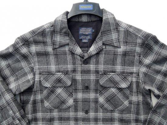 PENDLETON ペンドルトン Board Shirts  BLACK/GREY MIX PLAID