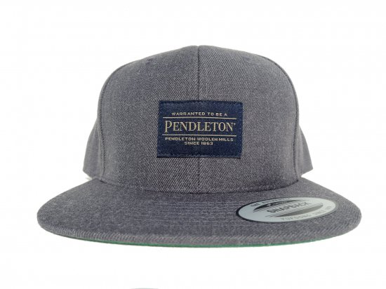 PENDLETON ペンドルトン SNAPBACK CAP HEATHER GREY