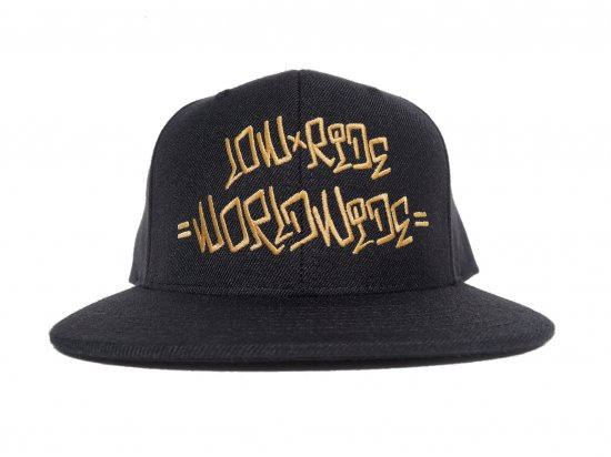 Low Ride Worldwide ローライドワールドワイド Original  logo BLACK ブラック