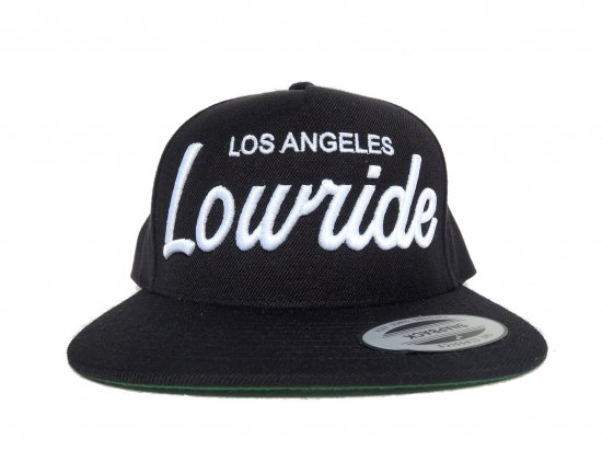 Ponte Trucha Califas  ポンテトゥルチャLos Angeles Lowride Embroidered Hat  BLACK ブラック