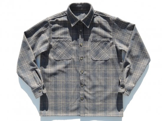 ACERS INC. エーサーズ   OG  Wool  Shirts  ウールシャツ  GREY グレー