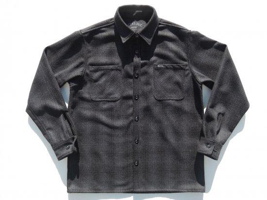 ACERS INC. エーサーズ   OG  Wool  Shirts ウールシャツ  BLACK  ブラック