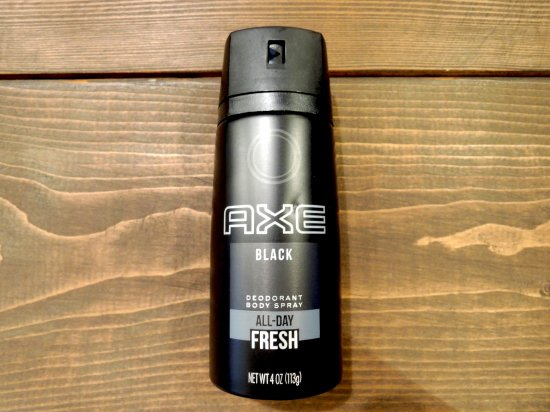 AXE アックス DEODORANT  BODY SPRAY  制汗ボディスプレー BLACK