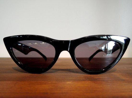 CAT EYE  Sunglass キャットアイ  サングラス  BLACK  ブラック