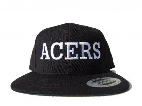 ACERS INC. エーサーズ  LOCALS SnapbackCap BLACK