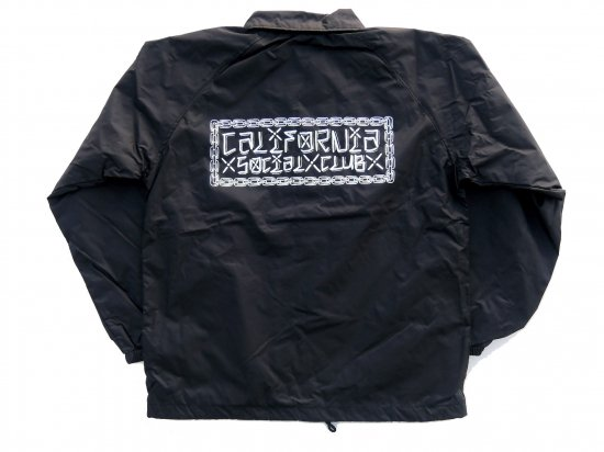 California Social Club CxSxC Coaches Jacket コーチジャケット BLACK