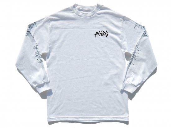 ACERS INC. エーサーズ  THRASH  LONG  SLEEVE   ロングスリーブTシャツ  WHITE