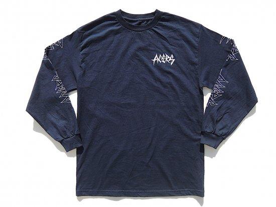ACERS INC. エーサーズ  THRASH  LONG  SLEEVE   ロングスリーブTシャツ  NAVY