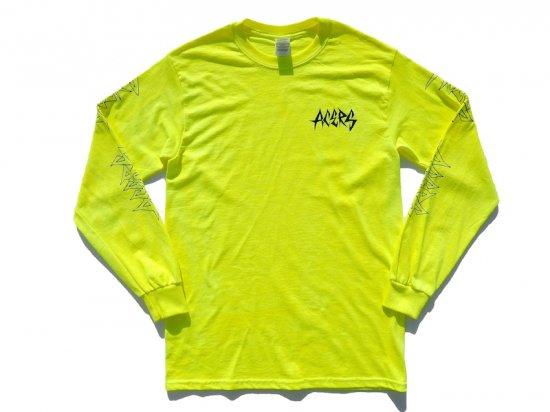 ACERS INC. エーサーズ  THRASH  LONG  SLEEVE   ロングスリーブTシャツ  SAFETY GREEN