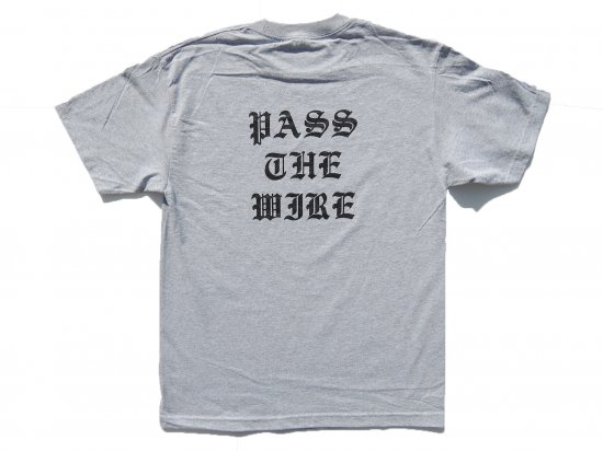 ACERS INC. エーサーズ  LA TO JP   S/S T-SHIRT  GREY グレー