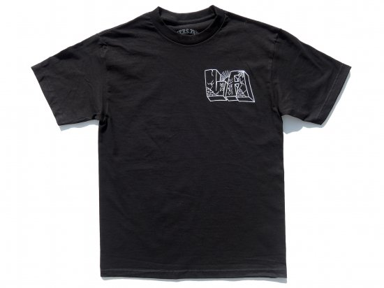 ACERS INC. エーサーズ  LA TO JP   S/S T-SHIRT  BLACK ブラック