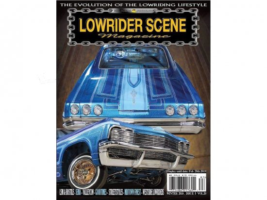 <img class='new_mark_img1' src='//img.shop-pro.jp/img/new/icons15.gif' style='border:none;display:inline;margin:0px;padding:0px;width:auto;' />LOWRIDER SCENE MAGAZINE ローライダーシーン Vol.20
