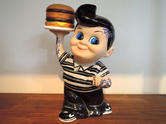 KATT MERCY DESIGNS KUSTOM Bob's Big Boy FB x HUMBURGUR