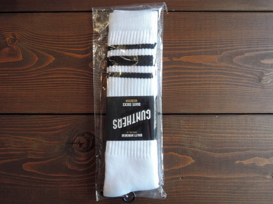 GUNTHERS ガンターズ ORIGINAL SKATE SOCKS   BLACK