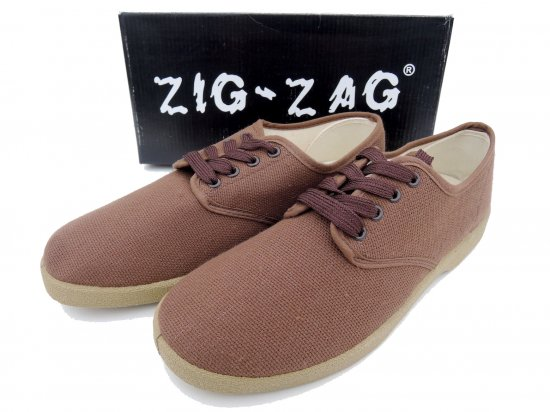 ZIG ZAG  Winos Shoes Lace Up レースアップ  #7201  BROWN ブラウン