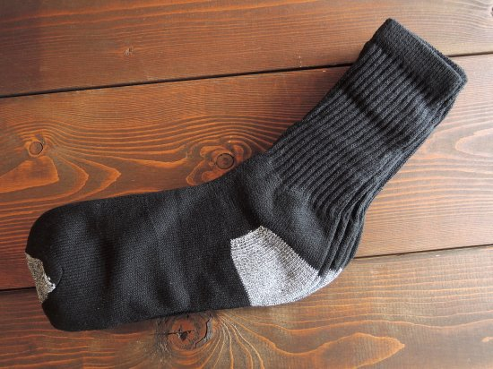 <img class='new_mark_img1' src='https://img.shop-pro.jp/img/new/icons15.gif' style='border:none;display:inline;margin:0px;padding:0px;width:auto;' />MEN'S  CREW  SOCKS   クルーソックス BLACK  ブラック 4足組